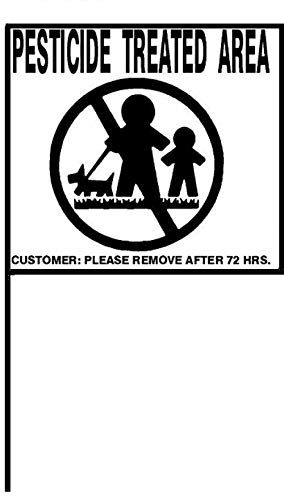 Caution Pesticide Application Signs – Universal, Durable...