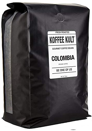 Koffee Kult Colombian Huila Fresh Coffee Beans - Whole Bean Coffee - Fresh Roasted (Whole Bean, 80oz)