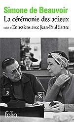 La Cérémonie des adieux / Entretiens avec Jean-Paul Sartre de Simone de Beauvoir