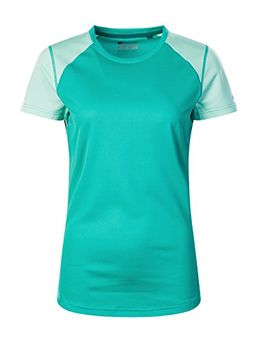 Berghaus T-Shirt Technique 2.0 à Manches Courtes à Encolure Ras du Cou Courtes pour Homme S Deep Green/Cabbage