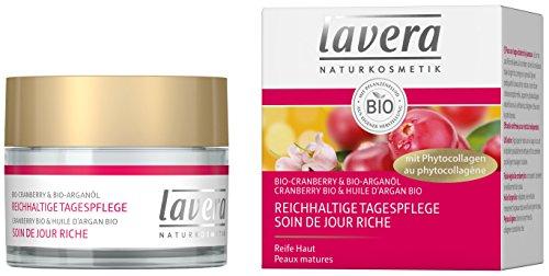 lavera Soin de Jour Riche Canneberge - Vegan - Cosmétiques naturels - Ingrédients végétaux bio - 100% naturel - Crème 50 ml