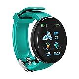 1,3 Zoll OLED Farbe Bildschirm Smart Watch IP67 wasserdicht Herzfrequenz Männer Blutdruck Sport Smartwatch Sauerstoff Sportuhr, grün