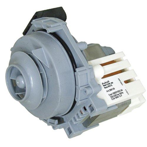 Easyricambi Motore Pompa CODICE 256523 - C00256523 - C00302800 - MOTOPOMPA Lavaggio per LAVASTOVIGLIE INDESIT ARISTON - Pompa SINCRONA + Guarnizione - (Senza CHIOCCIOLA)