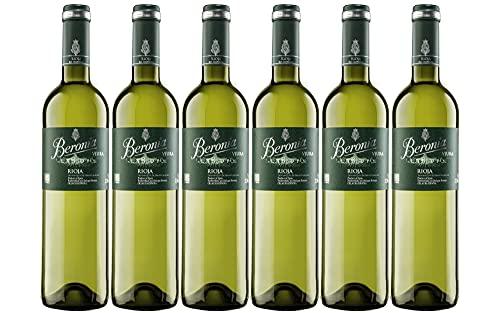 Beronia Viura - Vino Blanco D.O.Ca. Rioja - 6 botellas de 750...