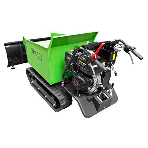 Zipper Mini Dumper ZI-MD500HS mit Kipphydraulik, Raupendumper, Motorschubkarre Kapazität bis 500 kg, Neu – mit stärkeren Motor - 3