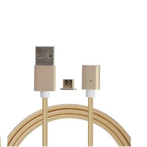 Cabo Magnético Dourado Android Universal Micro Usb M2 Original