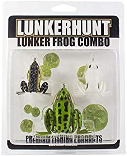 Lunkerhunt Lunker Frog Combo - Assortment