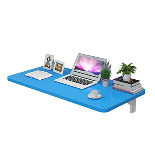 Wall Mounted Drop-leaf Table,Floating Folding Small Space Hanging Desk for Study, Bedroom
