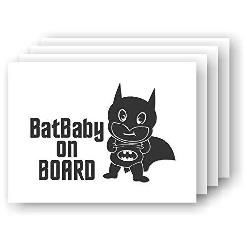 BatBaby on BOARD Baby Batman Vinyl Car Decal