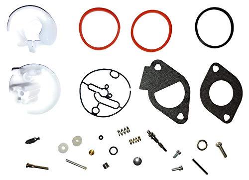 ProPart Carburetor Repair Rebuild Kit Compatible with Briggs & Stratton 796184, 698787, 699900, 699521, 792369, 790032 Master Overhaul for Nikki Carbs