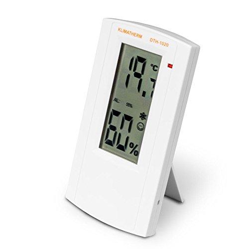 Klimatherm Digitales Thermometer Hygrometer Schimmel Vorsorge Wohnklima Messgerät DTH-1020 3 Jahre Garantie (1)