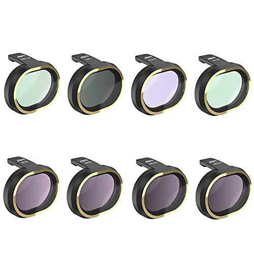 #N/A/a 8Pcs Set di filtri per Obiettivo della Fotocamera in Vetro Ottico UV CPL Star Night ND4 ND8 ND16 ND32 per FIMI X8 SE Drone, Accessorio Fotografico