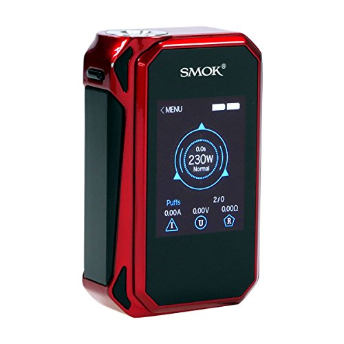 SMOK G-Priv 2 Box MOD, 230 Watt, Riccardo e-Zigarette - Akkuträger, rot-schwarz
