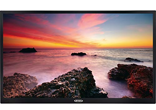 Jensen JE3217 HD Ready 32' LED TV, Integrated HDTV Tuner, Stereo Audio Input, Component Video Input, JCOM and CEC Function, VESA 100mm x 100mm Mounting Pattern, Dual-Function Remote Control Included