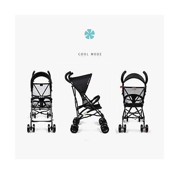 Makeups One-Handed Folding Stroller Height-Adjustable Stroller 0+ Group Is Suitable for Crib Up To 15 Kg with Umbrella Colour: Black Makeups The 3-in-1 car is suitable for the birth of a baby. 3-piece car-a car seat from a month to 15 kg, a large crib and a stroller that can be used for a long time. Easy to fold: A case that can be easily and quickly folded with only one hand. The size is reduced, which is ideal for travel and trunk space. With a compact chassis, easy to fold, can carry a crib, can be used from birth, and includes group 0. This is the ideal stroller for your baby. 4
