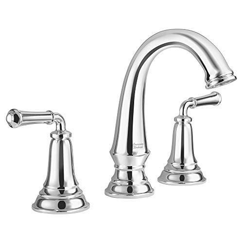American Standard 7052807.002 Delancey Widespread Bathroom Faucet with Pop-up Drain, Polished Chrome