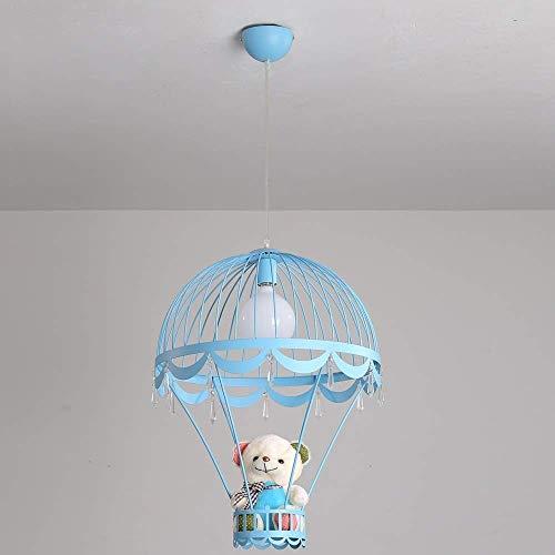 JYDQM Iluminación Colgante Modernas y Creativas Little People Mini Luces Colgantes for la decoración del Dormitorio Lámparas de araña de Dibujos Animados de Hierro for comedores (Color : B)
