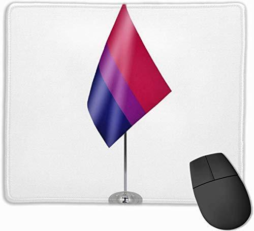 Biseksuele Bi Pride Tafel Vlag Niet-lip Persoonlijkheid Gaming Muis Pad Rechthoek Mousepad Art Mat