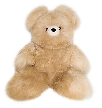 Alpaca Teddy Bear Soft Fluffy and Cuddly Stuffed Animal  Beige 18 inch