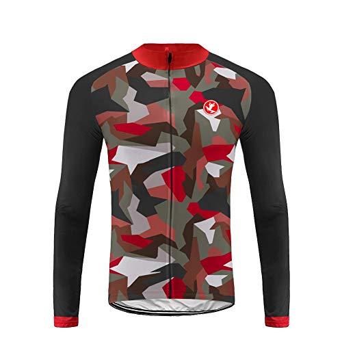 Uglyfrog Men Long Sleeve Cycling Jersey/Long Bib Pant Set ChangXS11