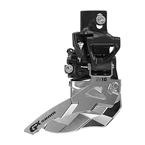 SRAM GX Bicycle Front Derailleur with 2 x 10 High Direct Mount 34T Bottom Pull