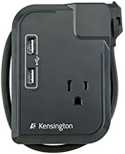 Kensington K38032US Portable Power Outlet with 3 Wall Outlets and 2 USB Power Ports (Discontinued by Manufacturer)