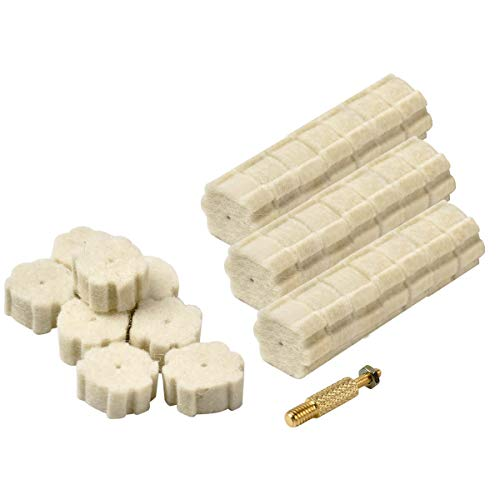 50pcs .223/5.56 Chamber Cleaning Pads & Attachment