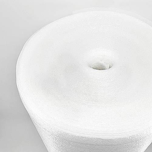 PE-Schaumfolie Schaumfolie 3mm Trittschalldämmung Dämmunterlage Dämm Parkett Fußboden Bodenunterlage Unterlage Dämmung Boden Laminat Fußbodenheizung (50m²)