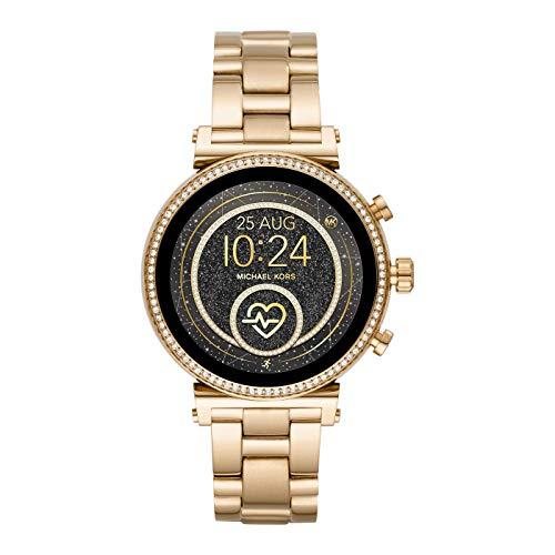 Michael Kors Touchscreen-Smartwatch für Damen mit Edelstahlarmband MKT5066 (erneuert)