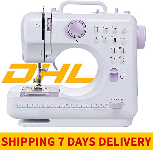 Review Sewing Machine for Beginners,Portable Sewing Machine Basic Easy to Use for Adults and Kids,12...