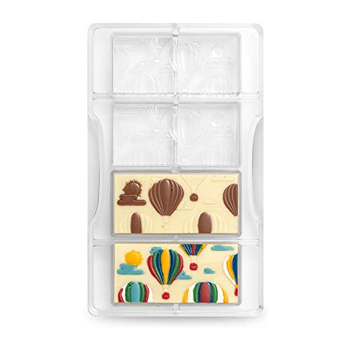 Decora 0050136 Molde para Chocolate Tableta con Globo AEROST