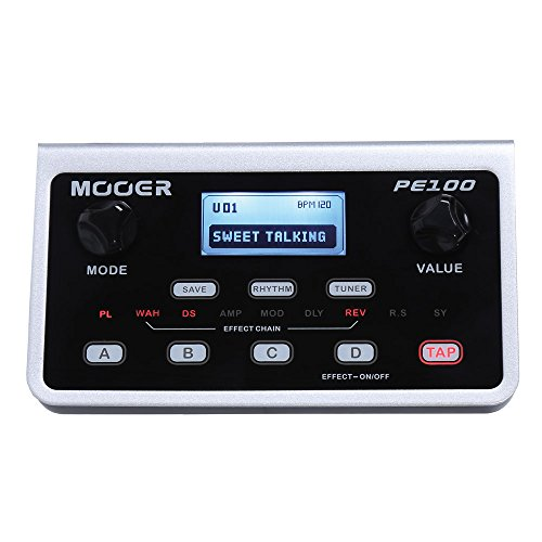 MOOER PE100 Guitar Effects