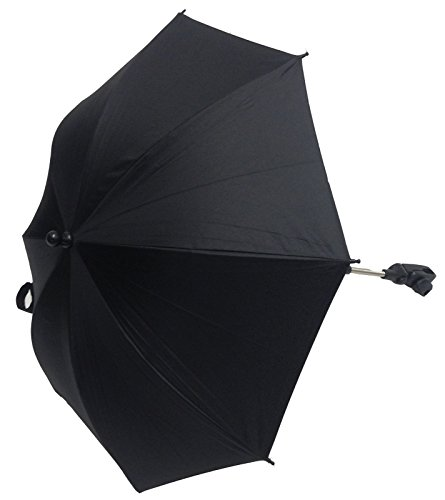 Universal Baby Parasol to Fit Mamas and Papas Stroller Buggy Pram Black