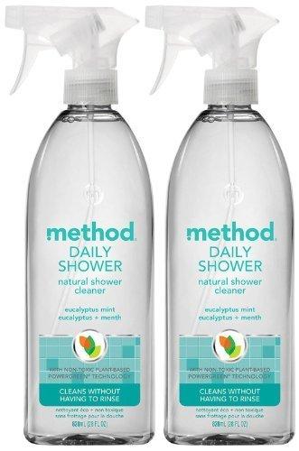 Method Daily Shower Spray, Eucalyptus Mint - 2 pk.