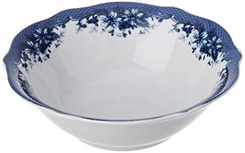 Brunchfield, Porcelana, Blanco y Azul, Bol 14 cm
