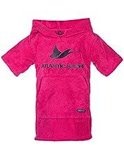 Atlantic Shore Surf Poncho ➤ Badjas/omtrekhulp van hoogwaardig katoen ➤ voor kinderen ➤ Roze