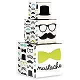 BirthdayExpress Mustache Man Party Supplies - Centerpiece