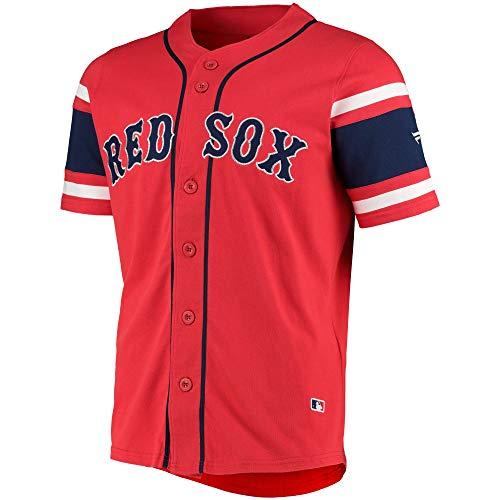 Fanatics Boston Red Sox Mlb Cotton Supporters Jersey - L