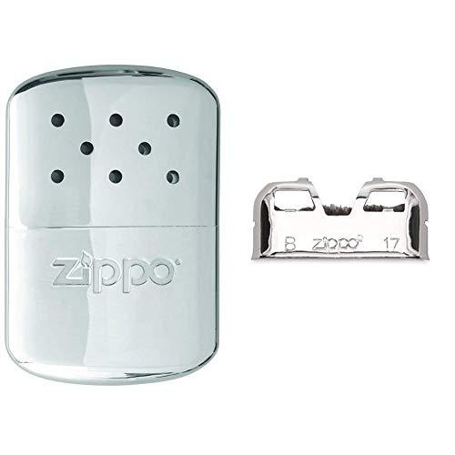 Zippo Scaldamani Handwarmer Originale da Tasca in Metallo, Argento & 2001755 Scaldamani di Ricambio