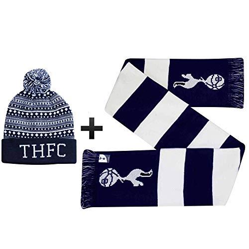 THFC Tottenham Hotspur - Set de regalo para calentadores de invierno