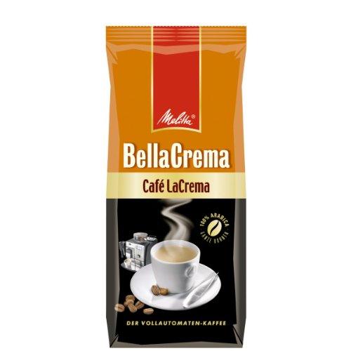 Melitta Bella Crema LaCrema 4x 1000g - Röstkaffee in ganzen Bohnen