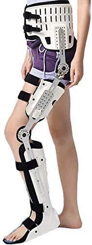 AY ROM Post-OP Hip abducción abducción, ortesis del pie de la rodilla de la cadera, para la fractura de cadera Fémur femoral Fractura Hip inestabilidad Fijación de la parálisis de la extremidad inferi