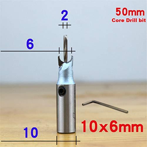 6 mm-30Mm Fräser Fräser Buddha-Korn-Kugel-Messer Holzbearbeitung 10 mm Schaftholzperlen Bohrer für Fresas Para CNC 10mm x 6mm