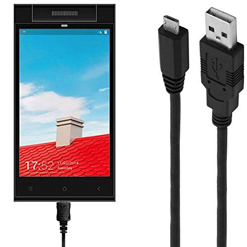 ASSMANN Ladekabel/Datenkabel kompatibel für Gionee Elife E7 Mini - schwarz - 1m