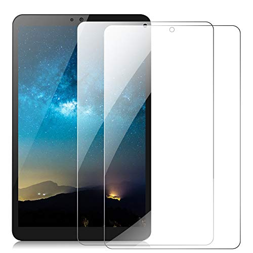 DETUOSI 【2 Pack】 Screen Protector for LG G PAD 5 10.1 inch, Anti Explosion Scratch Resist Bubble Free 9H Tempered Glass for LG G Pad 5 10.1' FHD Android Tablet Screen Protector