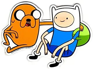 adventure time car magnet