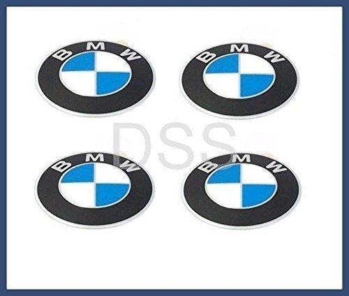 BMW (1984–2011) centro de la rueda Cap emblemas OEM 70mm