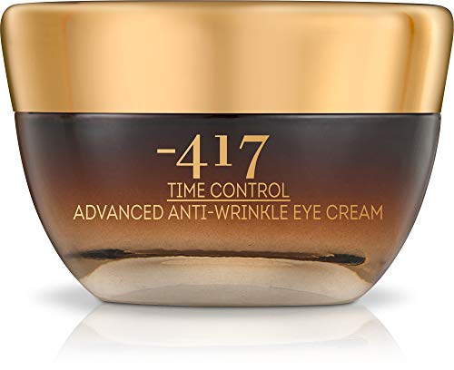 -417 Dead Sea Time Control Advanced Anti-Wrinkle Eye Cream - Anti-Aging, Firms and Tightens Skin -with Horse Chestnut Seed Extract , Olive Oil & Dead Sea Water - Best Eye Cream foe fine lines and Wrinkles 1.o fl oz Time Control Collection