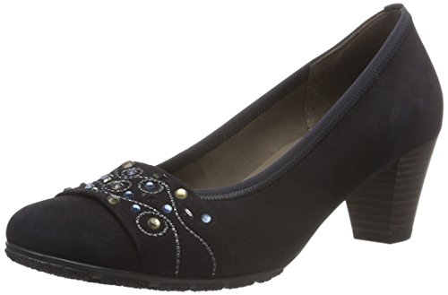 Gabor Shoes 55.492 Damen Pumps, Blau (pazifik 16), 42.5 EU (8.5 Damen UK)
