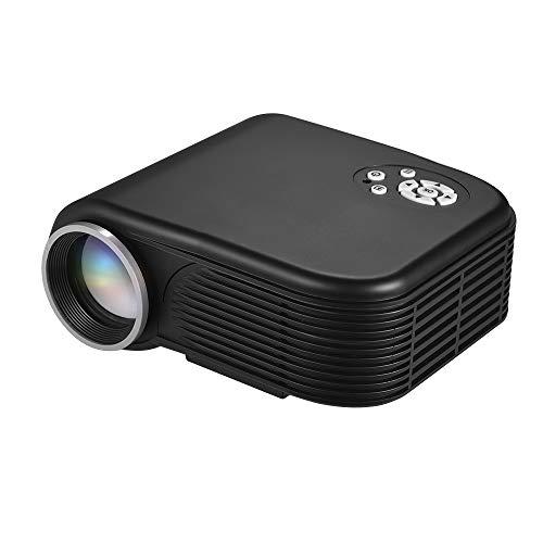 Fesjoy projektor mini beamer beamer full hd led beamer chromecast Tragbarer LED-Mini-Filmprojektor 1080P unterstützt 30-100 Zoll Projektionsgröße mit AV/VGA/USB/TF/HD-Eingangsanschlüssen Mult